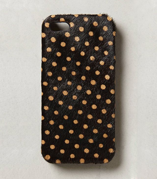 Anthropologie Daub Calf Hair iPhone 5 Case