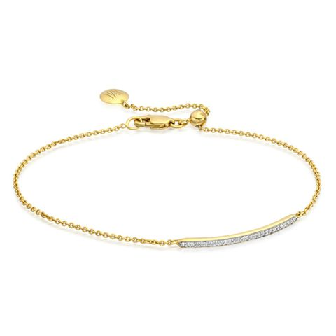 Skinny Short Bar Bracelet