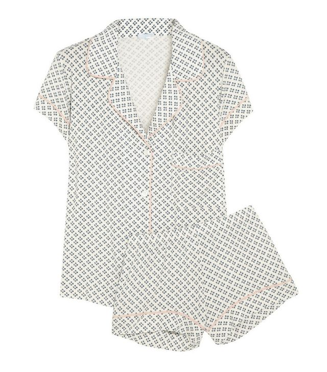 Eberjey Batik Pajama Short Set