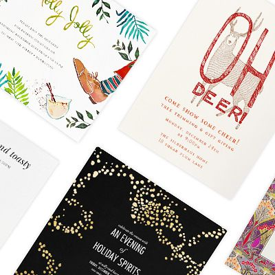 10 Stylish Invitations for Your Holiday Party