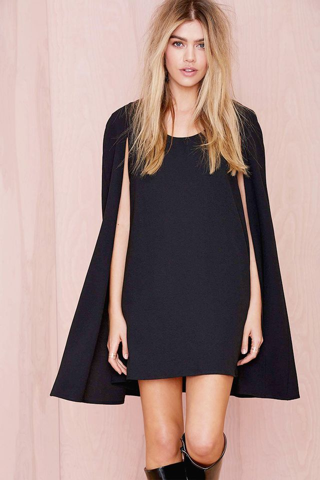 Nasty Gal Catherine Cape Dress
