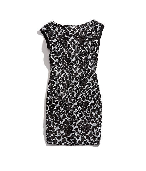 GUESS Dalmatian Sequin Dress GUESS
