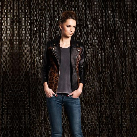 Lou Perfecto Leather Jacket