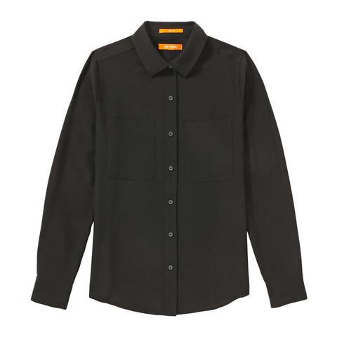 Contrast Silk Shirt
