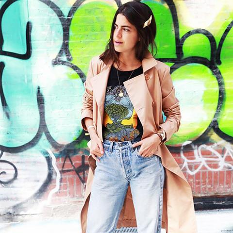 Leandra Medine Hair Clip Street Style
