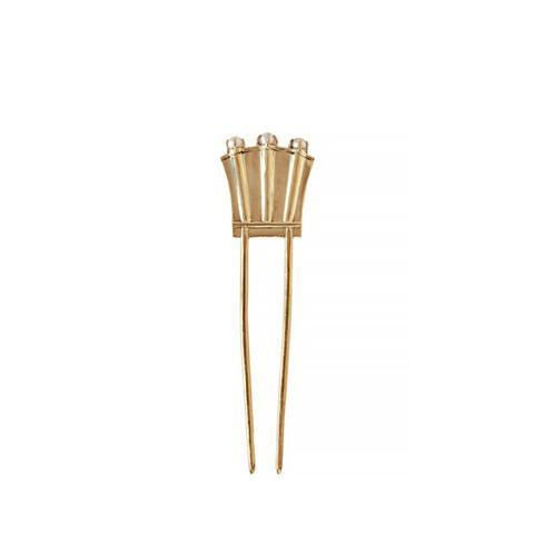 Pearl Fan Hairpin