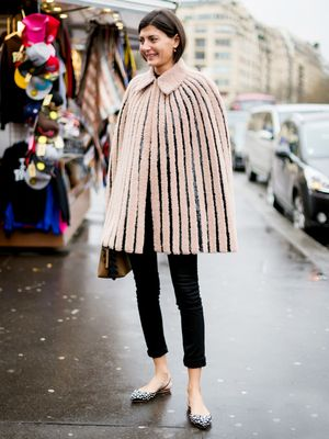 Tip of the Day: Cozy Up in a Cape