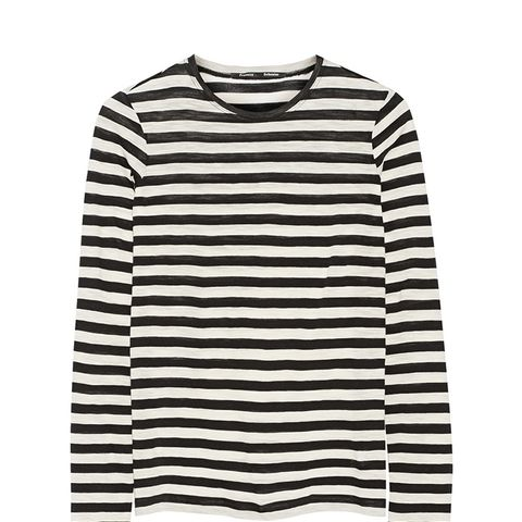 Striped Slub Cotton Top