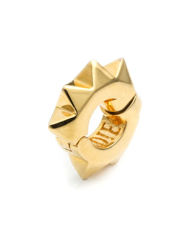 Eddie Borgo Gold Plated Pyramid Ear Cuff