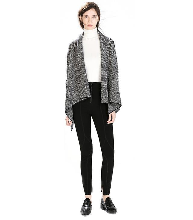 Zara Two-Tone Pointed Jacket