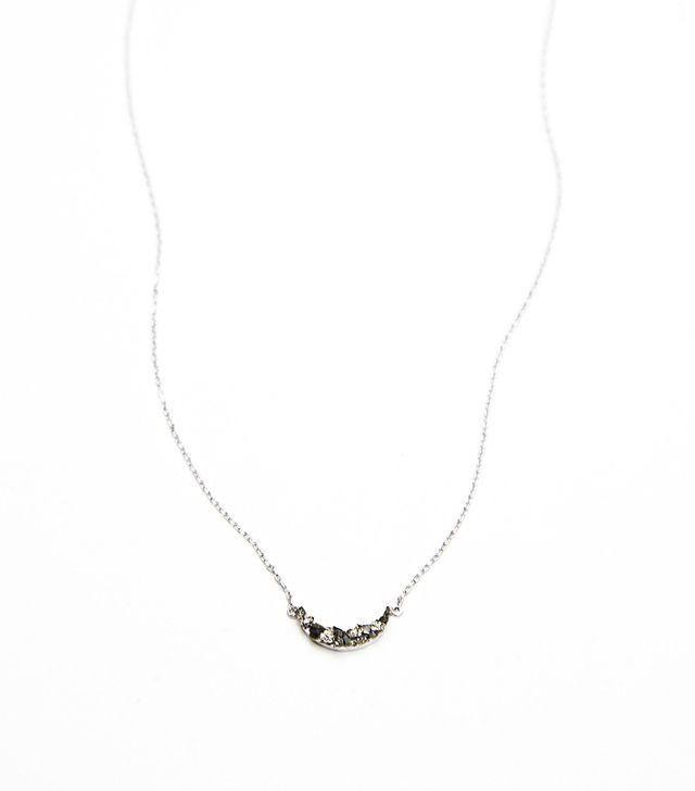 Marly Moretti Tiny Crescent Necklace