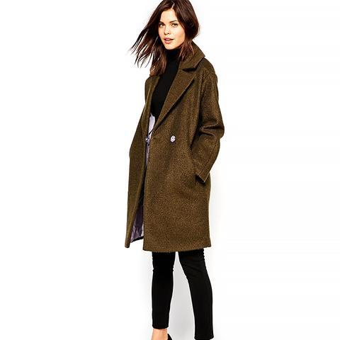 Oversized Cocoon Coat