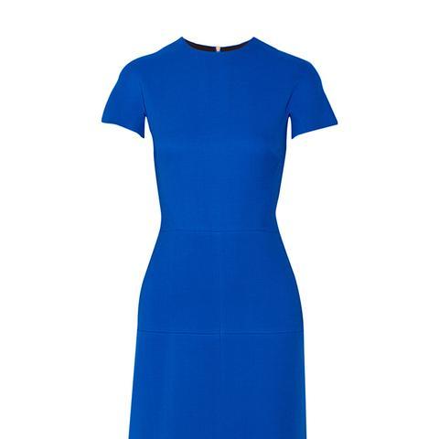Silk and Wool-Blend Dress