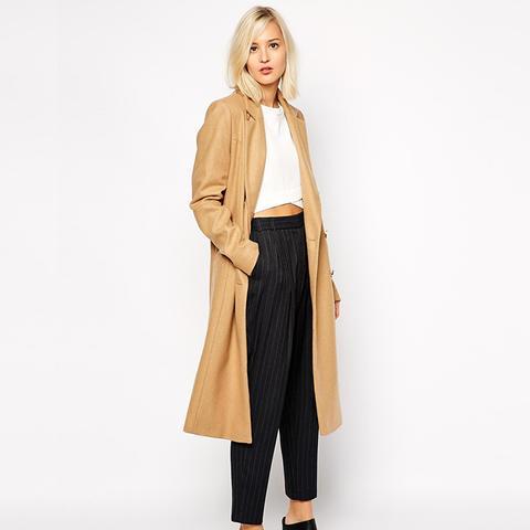 Longline Wool Coat