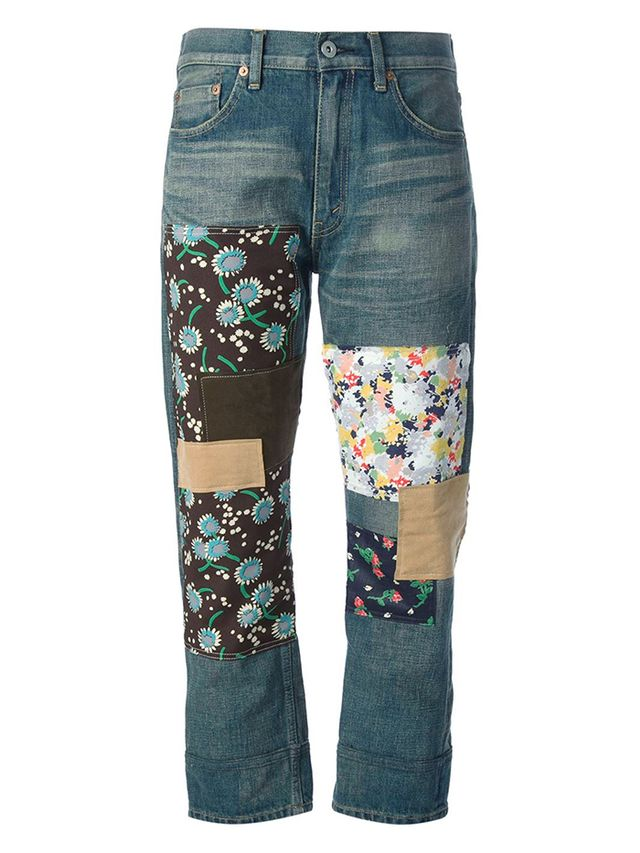 Junya Watanabe Comme Des Garcons Patchwork Jeans