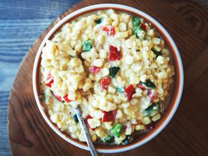 Spicy and Sweet Creamed Corn