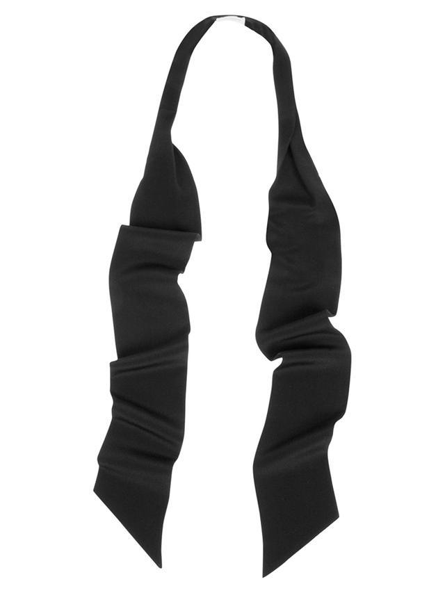 Saint Laurent Silk Tuxedo Scarf