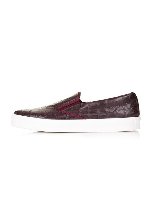 Topshop Tipi Croc Sneakers