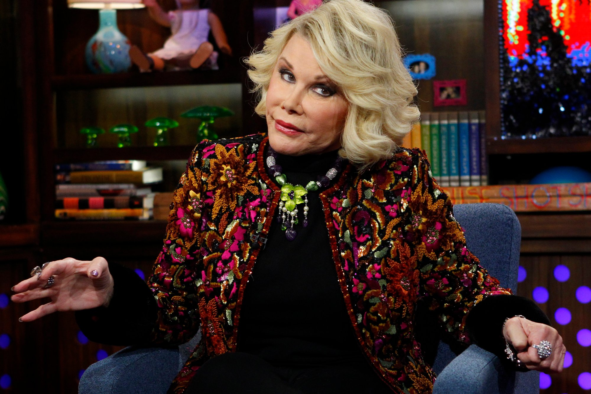 Joan Rivers Fashion Police 2014 of Joan Rivers Fashion