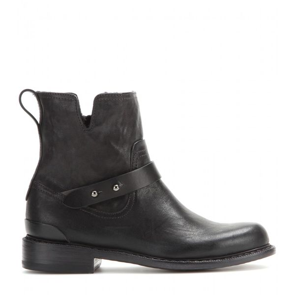 rag & bone Ashford New Moto Leather Ankle Boots