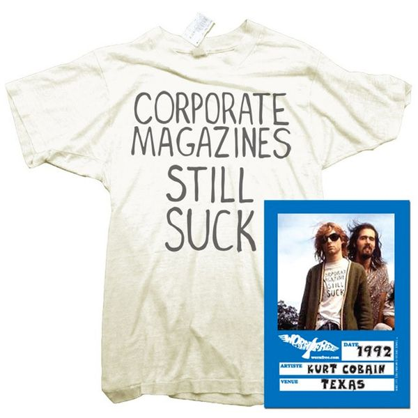 Worn Free Corporate Magazines T-Shirt