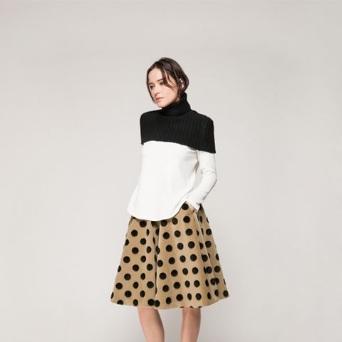 Sweater Coverlet + Top + Full Skirt