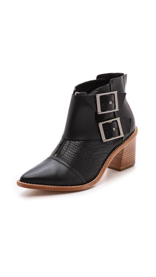 Tibi Carson Embossed Boots