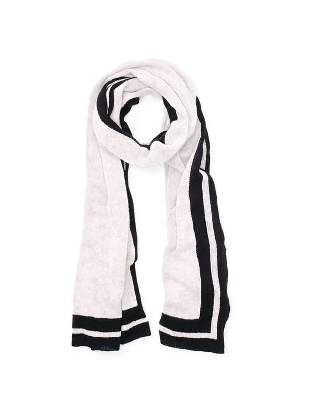 Club Monaco Adele Striped Cashmere Scarf