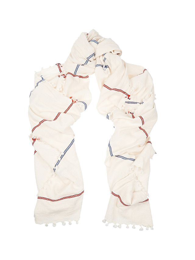 Heather Taylor Woven Cotton Scarf