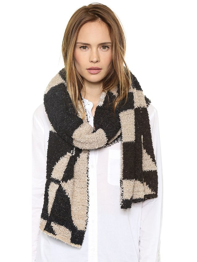Malene Birger Knit Work of Art Asunho Scarf