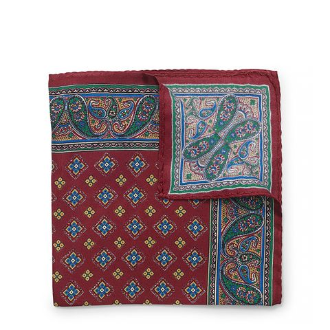 Foulard Silk Pocket Square
