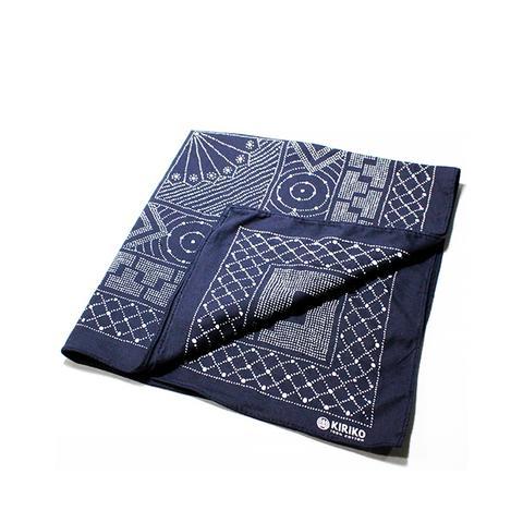 Hand-Printed Bandanas