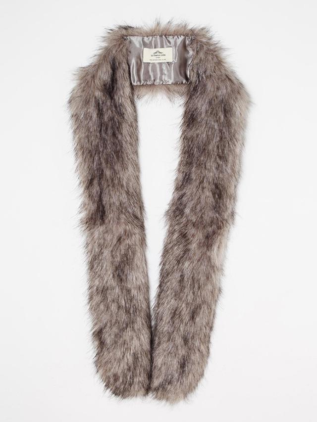 Urbancode Skinny Faux Fur Scarf