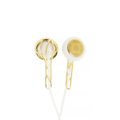 Ella Gold-Tone Earphones