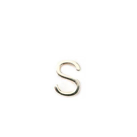 Mini Letter Stud Earring