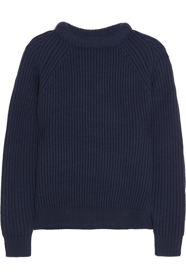 NLST Ribbed Merino Wool Sweater