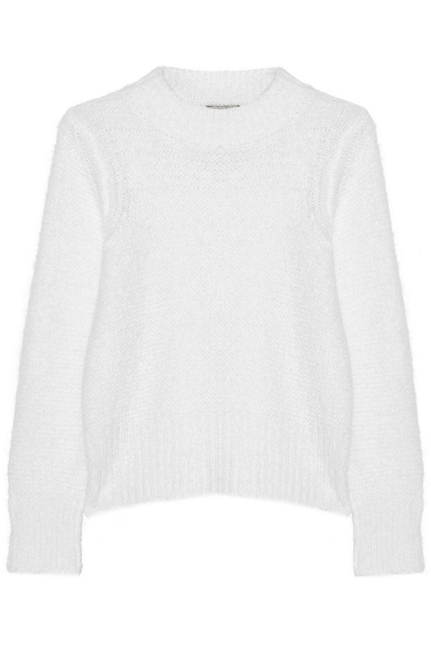 Sea Chunky-Knit Mohair-Blend Sweater