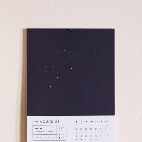 2015 Astrology Wall Calendar