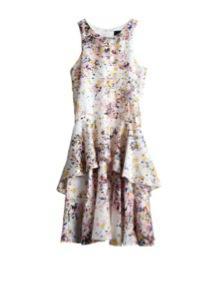 Cynthia Rowley  Silk Overlay Dress