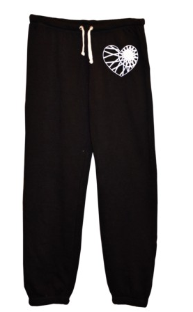 Soul Cycle Scrunch Bottom Pant With Wheel Heart