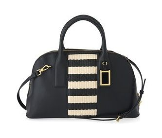 Marc by Marc Jacobs  Stripey Straw Satchel