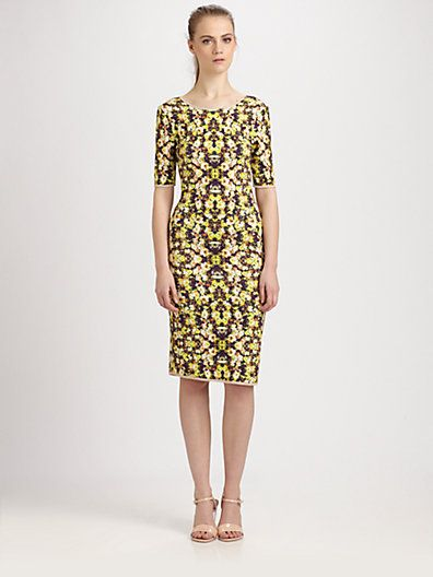 Sam & Lavi Sina Floral-Print Jersey Dress