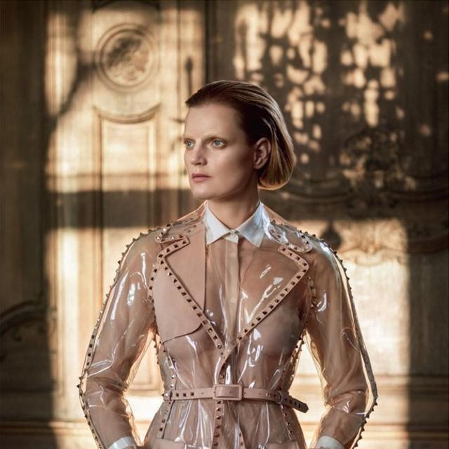 Guinevere in Valentino   Vogue Italia