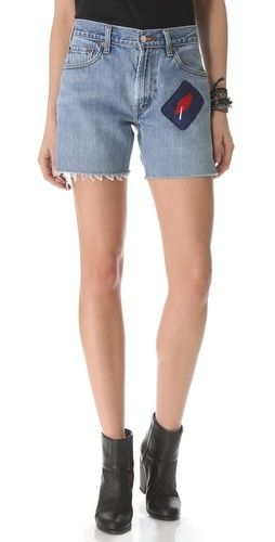WGACA  Vintage Custom Shorts with Lip Patch