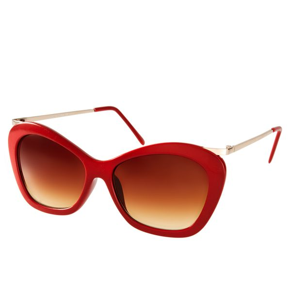 ASOS  Chunky Cat Eye Sunglasses with Metal Arm