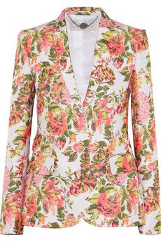 Stella McCartney  Floral Jacquard Jacket