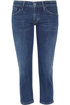 Citizens of Humanity  Racer Low-Rise Cropped Skinny Jeans
