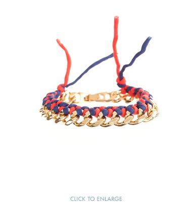 Ariel Gordon  Silk Woven Bracelet