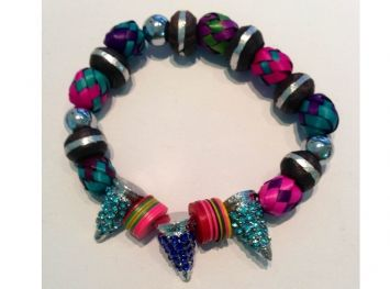 Jewels by Dunn  Spike Candy Bracelet