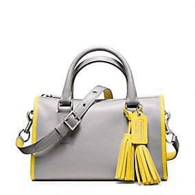 Coach  Legacy Archival Two Tone Satchel